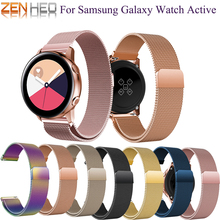 bracelet galaxy active 20mm Watch Band Milanese Loop band for Samsung Galaxy Active Bracelet