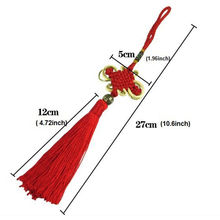 Chinese Lucky Knot Cross Stitch Tassel Decorations