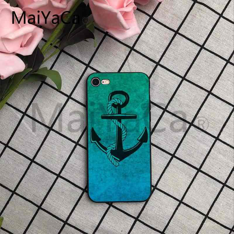 ... MaiYaCa Sailing Anchor Wallpaper Colorful Printing Drawing TPU Phone Case for iPhone 7 6 X 6S ...