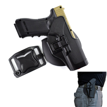 Quick Tactical CQC Right Hand Paddle Pistol Holster for Glock 17 19 22 23 31 32 Black