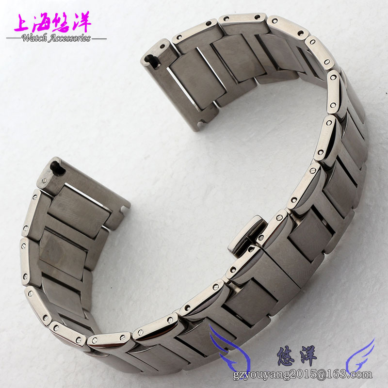 Stainless steel bracelet strap alternative card force Male hook steel with 24 mm watch accessories