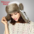 Caps Hats Autumn And Winter Women's Of Lace With Fur For Lady Girl Christmas Gift Outdoor Bomber KM-1388
