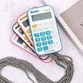 M & G двойной Мощный карманный мини-калькулятор Многофункциональный милый розовый Солнечный маленький калькулятор для школьников 8 цифр Andstal