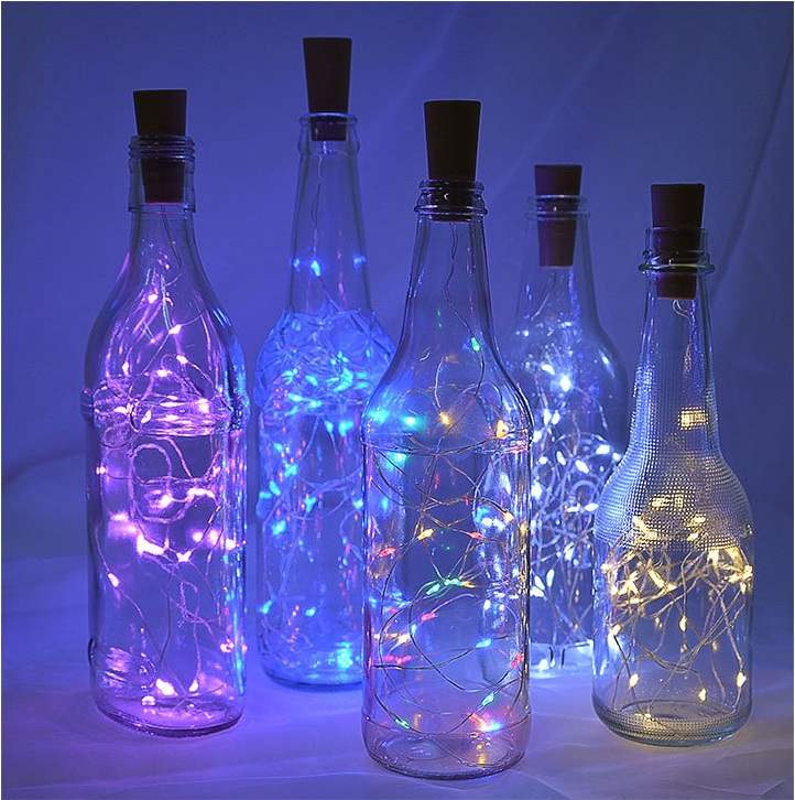 10LED 20LEDs Mini LED Holiday String Lights Micro Waterproof Lamp Indoor Wedding Light For Home Decoration Christmas Glass Craft