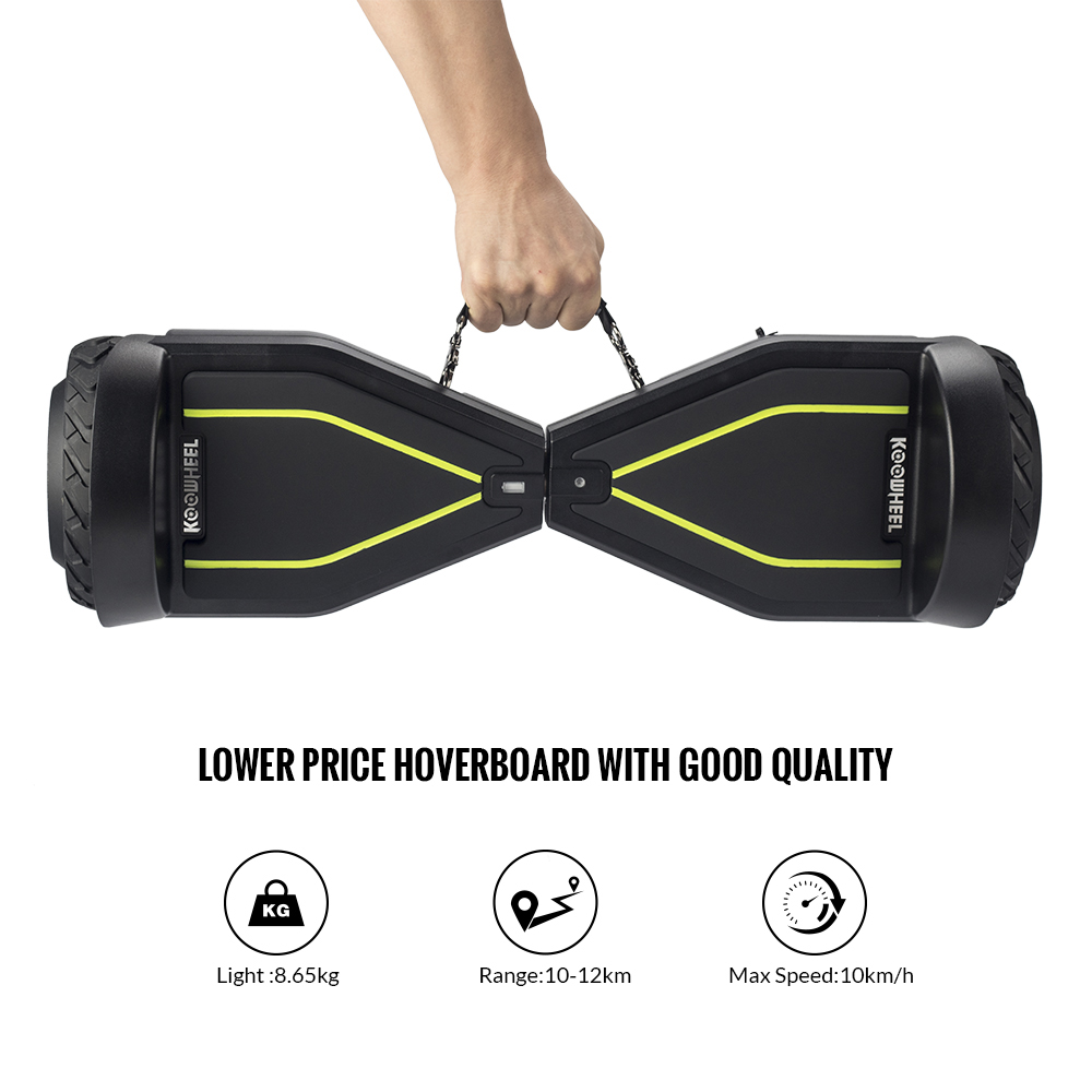 Koowheel K8 Portable Handle Strip 2 Wheels Electric Scooter Hoverboard Cheap Self Balancing 6.5inch Electric Scooter No Tax