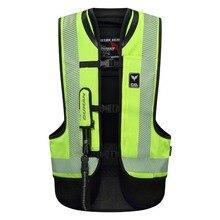 DUHAN รถจักรยานยนต์ กระเป๋าเสื้อกั๊ก Moto Racing Professional Air Bag Motocross ป้องกันถุงลมนิรภัยเกียร์