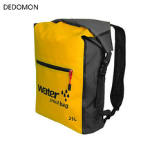 25L Outdoor Waterproof Swimming Bag Backpack Bucket Dry Sack Storage Bag Rafting Sports Kayaking Canoeing Travel Wateroof Bag