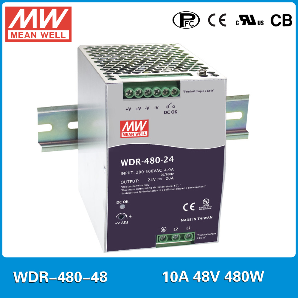 Mean Well HEP-480-36 36V 13A 479W LED Switching Power Supply