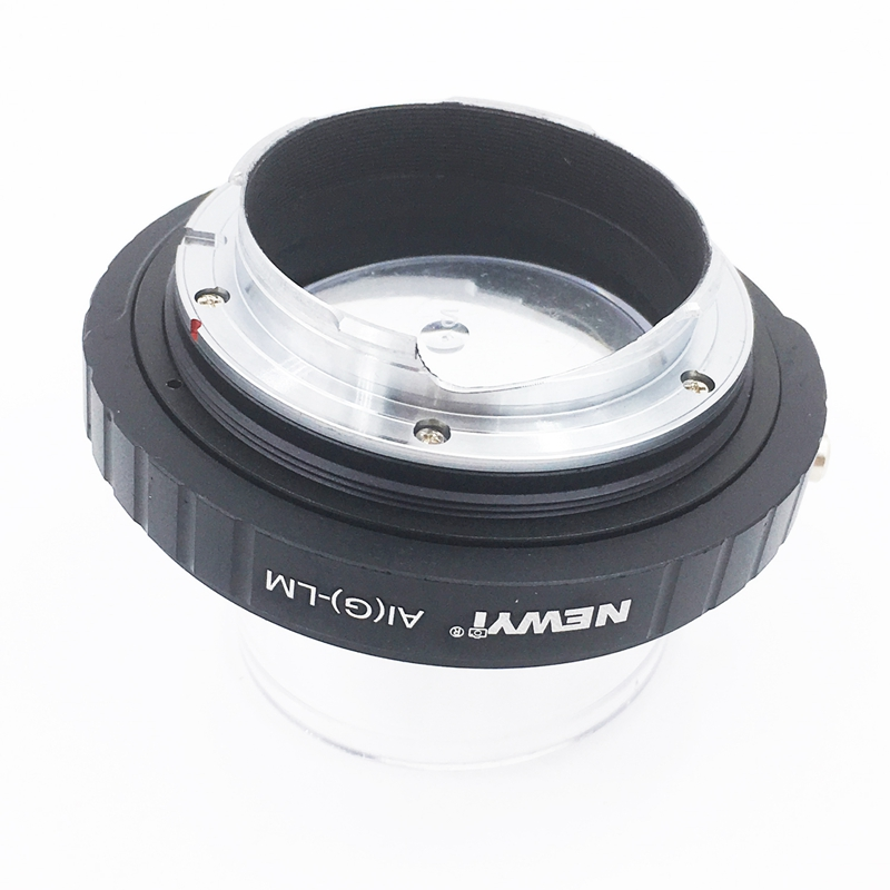 Image 5 - NEWYI Adapter For N ikon Ai F G Af S Mout Lens To FM Lm L/M Camera New Camera Lens Ring Accessories-in Lens Adapter from Consumer Electronics