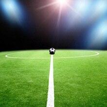 Laeacco Flash Futebol Jogo de Cena Backdrops Para Estúdio de Fotografia Fotografia Fundos Fotográficos Personalizados