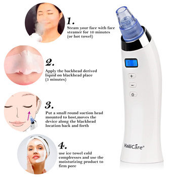 Skin Care Pore Vacuum Blackhead Remover Acne Pimple Removal Vacuum Suction Tool Face Clean Facial Diamond Dermabrasion Machine 1