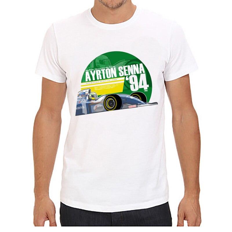 Мужские футболки с коротким рукавом и круглым вырезом, принт с красной машиной, плюс размер, топы, футболки, брендовые, хорошее качество, удобные футболки, топы - Цвет: 6