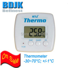 Portable Digital Thermometer C/F Switch Temperature Meters Free Shipping