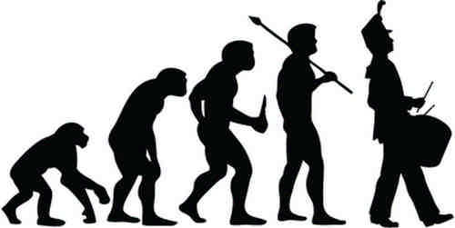 1pc Evolution Marching Band Drumme2 Stickers Fashion