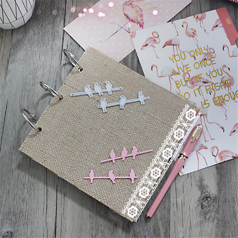 Bird Metal Die Cutting Scrapbooking Embossing Dies Cut Stencils Decorative Cards DIY album Card Paper Card Maker snowflake hollow box metal die cutting scrapbooking embossing dies cut stencils decorative cards diy album card paper card maker