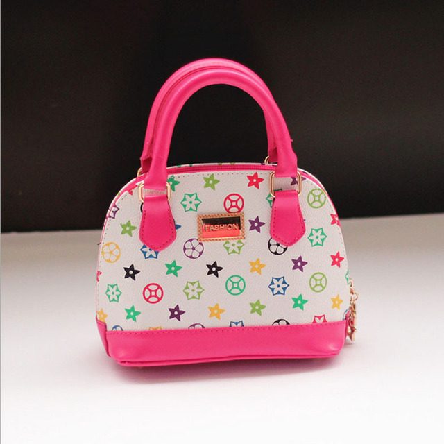 f591b6d9fcc3 2015 New Baby Girls Fashion Bags Girl Accessories Kids Handbags Children PU  Leather Party Bag sling Bolsas satchels