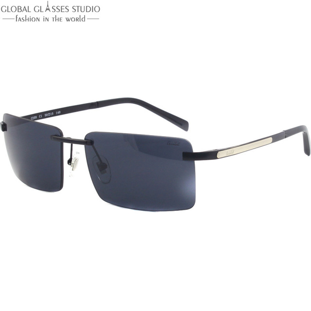 New Good Alta Qualidade Homens Dobradiça Preto limpar lens Óculos Frame/Óculos/Óculos de Sol C1 C209