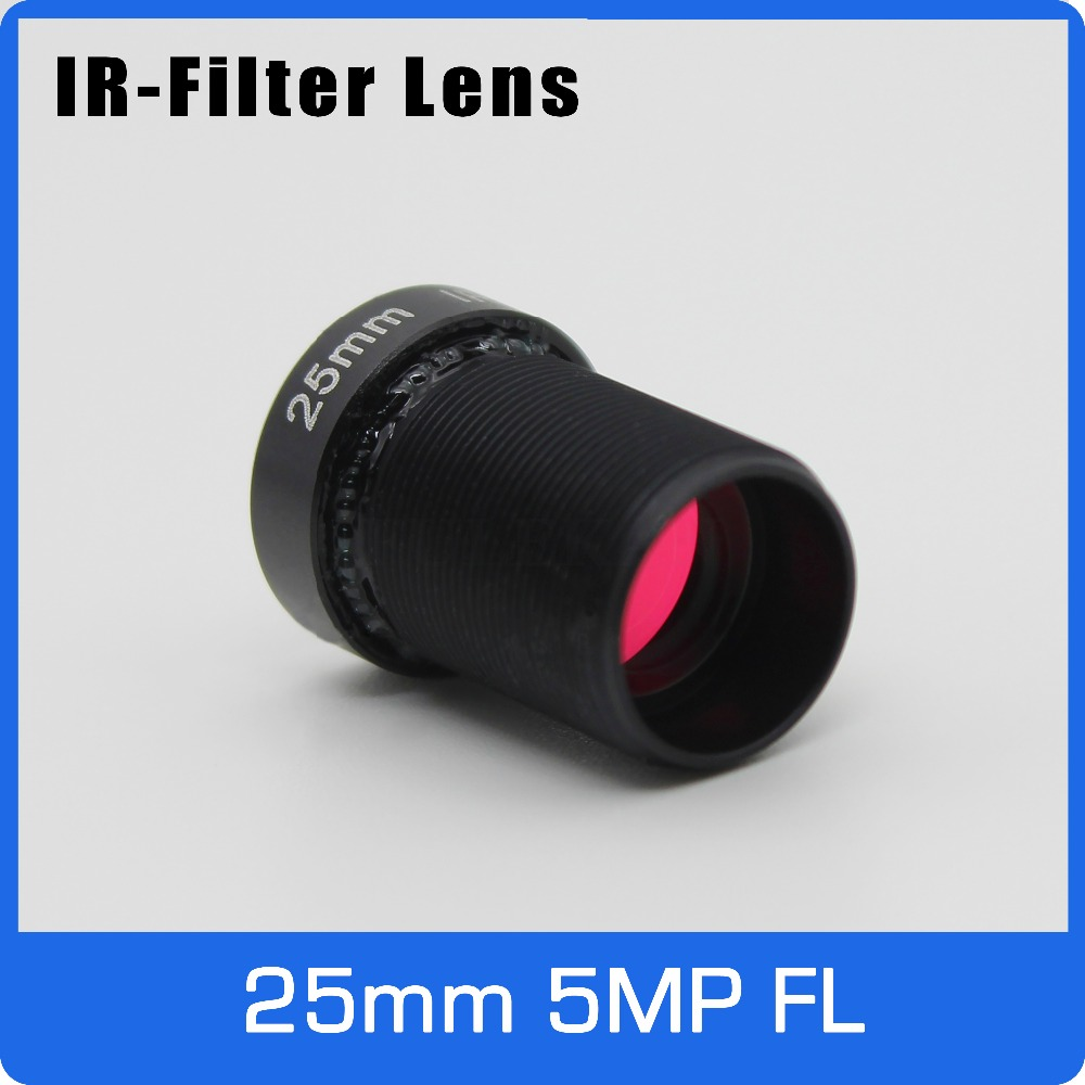 5Megapixel Action Camera Lens 25mm M12 IR Filter 1/2 inch Long Distance View For EKEN SJCAM Xiaomi Yi Gopro Hero Sport Camera 2 aixs 2d brushless camera gimbal for gopro sjcam xiaomi yi action camera eken f450 f550 s500 fpv drone multirotor quadrocopter