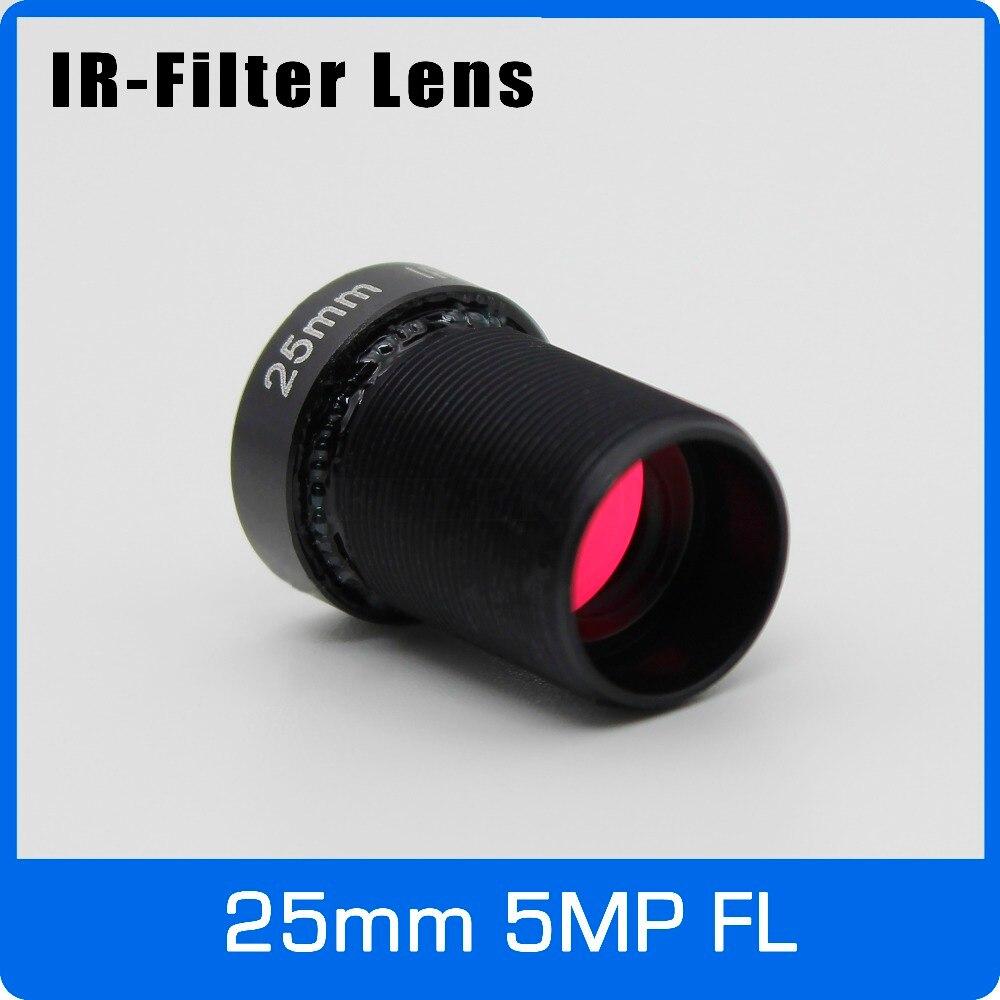 5Megapixel Action Camera Lens 25mm M12 IR Filter 1/2 inch Long Distance View For SJCAM Xiaomi Yi Gopro Hero Firefly Sport Camera