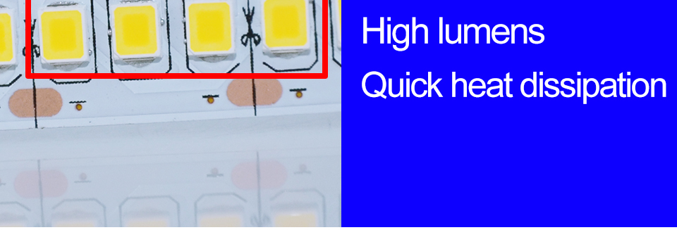 Ultra Bright SMD 2835 LED Strip DC 12V Flexible Waterproof Led Strip High Lumen LED Light Tape Ribbon Lamp 5MRoll 3528 5050 SMD Indoor 17