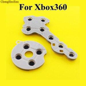 Image 1 - ChengHaoRan 100 set tampons en caoutchouc silicone conducteur pour Xbox360 contrôleur sans fil pour Xbox 360 bouton de Contact d pad réparation