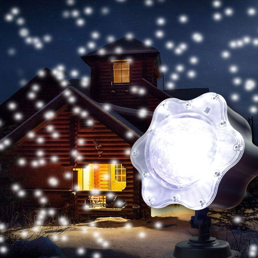 Led Will Snow Lamp Outdoors Lamp Halloween Christmas Outdoors Lawn Lamp Led Bar Stage Lamp все цены