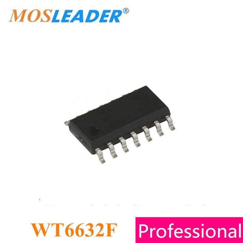 Mosleader WT6632F SOP14 10pcs WT6632 Support PD 3.0 QC2.0 QC3.0 USB PD Controlor High quality mosleader dip pt908 7c f 1000pcs