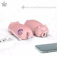 PIAGOLD Cute Piggy Portable Power Bank 10000mAh Universal External Battery Backup Charger Birthday Gift For Mobile