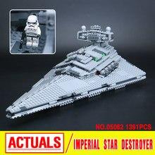 Yeni 1359 adet Imperial Star Destroyer Lepin 05062 Hakiki Yıldız Savaşı Serisi Set 75055 Yapı Taşları Tuğla Eğitici Oyuncaklar
