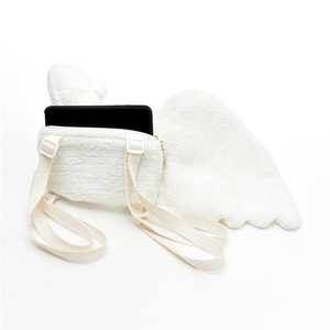 Image 4 - Japanese Cute Angel Wings Plush Backpack Kawaii Small Backpack Childrens Bag Girl Gift