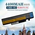 4400 mah batería del ordenador portátil para lenovo ideapad b560 y460 v560 y560 y460a y460at y460n y460c y460p y560 y560a y560p 57y6440 l10s6y01