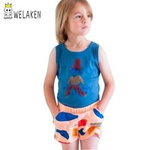 Children Vest Summer Clothing T-shirt For Boys Girls Baby Wear 2016 Hot Sale Toddler Vest Brand