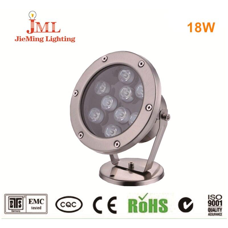 Brand New LED led aquarium lighting LED Underwater light lamp for piscina pool coral 18w DC24V IP68 Waterproof Swimming pool