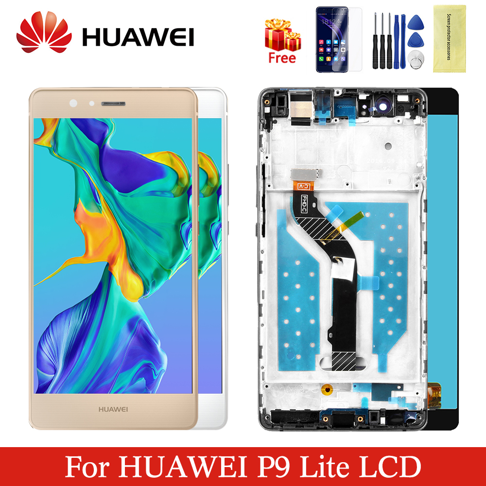 Original huawei p9 lite LCD display digitizer assembly touch screen replacement for VNS L21 VNS L22 VNS L23 VNS L31 VNS L53