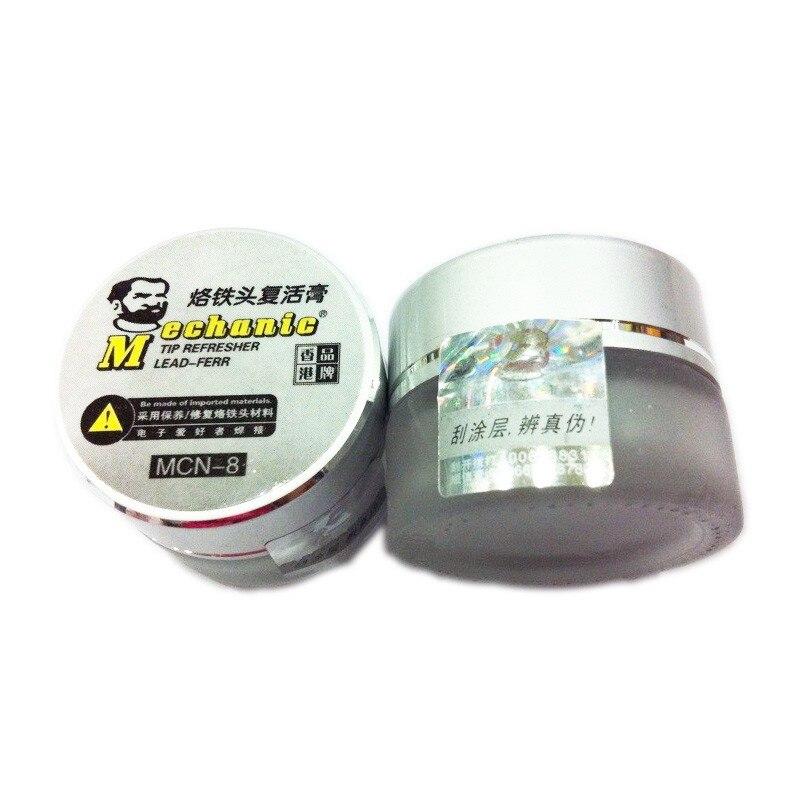 Pointe résurrection crème crème nettoyante oxydé fer Tsui nemesis MCN-8, fer à souder Astuce recyclage BGA Retravailler les Pièces