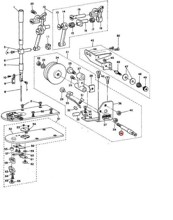Detail Feedback Questions About Industrial Sewing Machine Parts