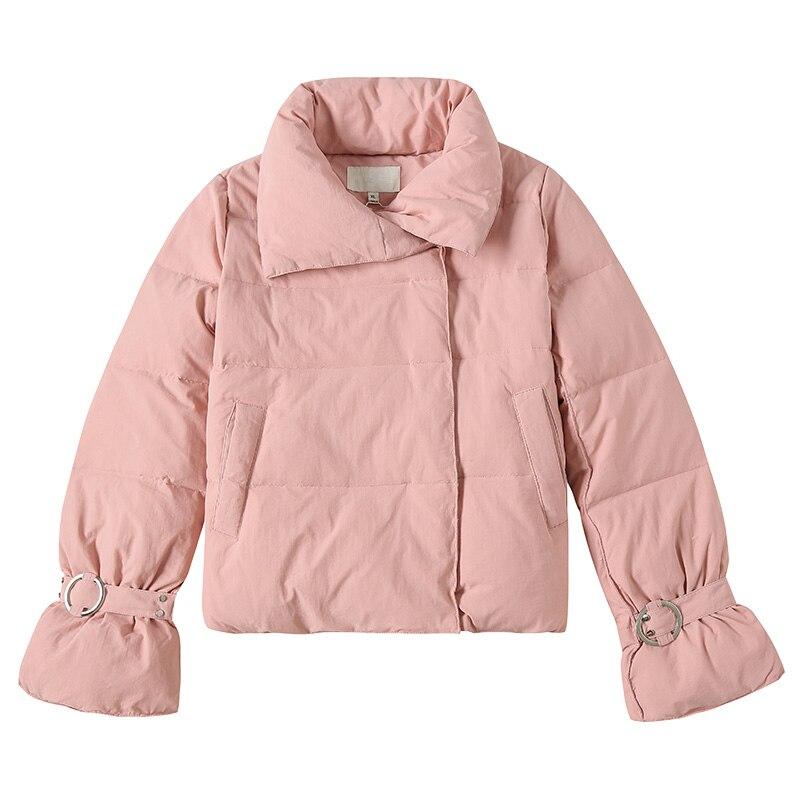 Chaud À Boutonnage Longues Pink Le Survêtement Épais De Double Mesdames New red Femmes Z498 Manches Parka Mode Vers Veste Tournent white Lâche Hiver Bas UqOPt1wx