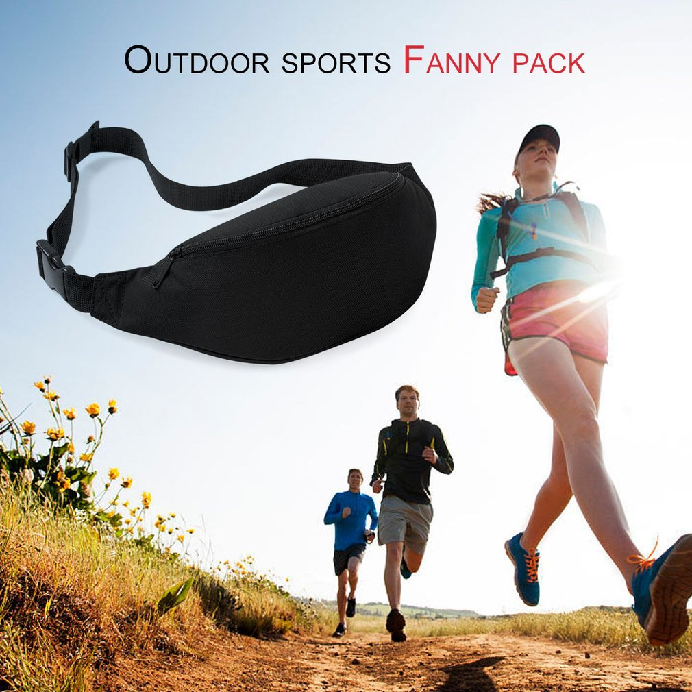 Outdoor Sprots Running Jogging Waist Bag Waterproof Phone Waist Belt Pack Gym Fitness Belt Wallet Pocket Travel Bag Drop Ship