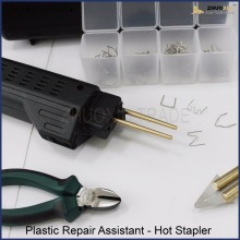 Plastic Repair Kit, With 200 staples & melt knife,WS-004