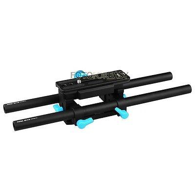 Tige de Rail FOTGA DP3000 15mm support de plaque de base QR avancé pour DSLR suivre la plate-forme de mise au point - 2