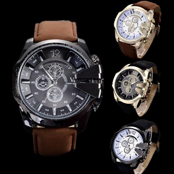 V6 Watch Men Watch Luxury Brand Sport Watches Military Men s Watch Clock saat relogio masculino