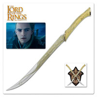 Hobbit and 1: 1 Lord of the Rings elf prince Legolas sword movie swords and hanging board Role Play craft sword