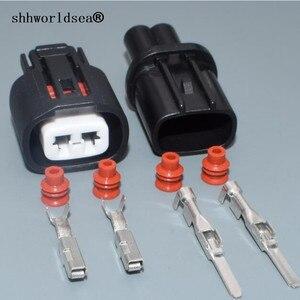 Shhworldsea 2 pin 2,2 мм Автомобильный датчик штепсельная вилка 6189-0706 гнездовой разъем для автомобильного датчика для Toyota