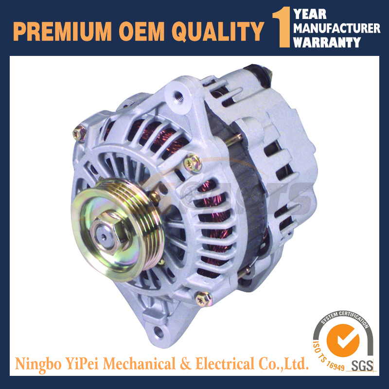 13585N New Alternator for DSM Mitsubishi Eagle Eclipse Talon Galant 4G63 Turbo купить