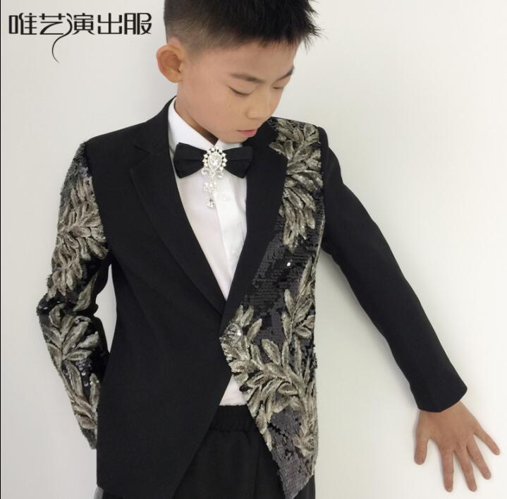 f2903dd7e114 Terno Homme Nera Il Disegni Blazer Fase Abiti Da Singers Campus Stella  Festa Stile Jacket Uomo Vestiti Di ...