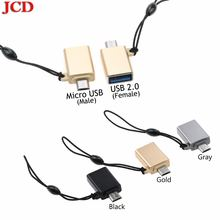 Jcd для huawei micro usb otg адаптер папа к 20 микро конвертер