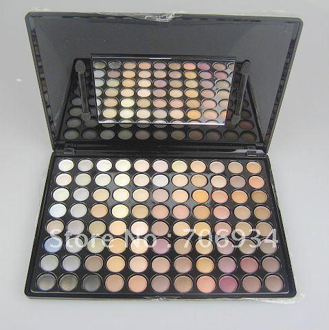 Pro 88 colores de Sombra de Ojos Paleta de Sombra de Ojos sombra de Ojos Maquillaje conjunto 2 #1/packet