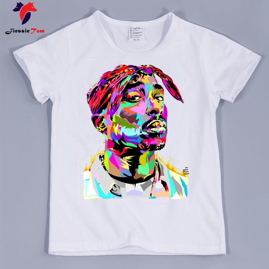 Хип-хоп Тупак 2pac Дизайн прикольные футболки для мальчиков и девочек Милая одежда для малышей Chindern Повседневное Топы TeesTee рубашки