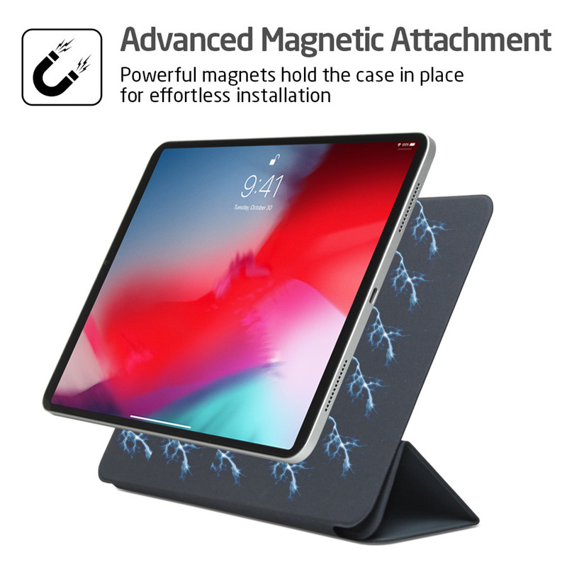 Original Official 1:1 <font><b>Case</b></font> For <font><b>iPad</b></font> Pro 11 2018 Ultra Slim Magnetic Smart Folio Cover For <font><b>iPad</b></font> Pro 11 inch 2019 Auto Sleep Wake image