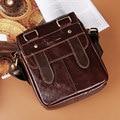 HOT Selling! Retro fashion leather man bag business casual shoulder bag high quality soft shoulder bag Messenger